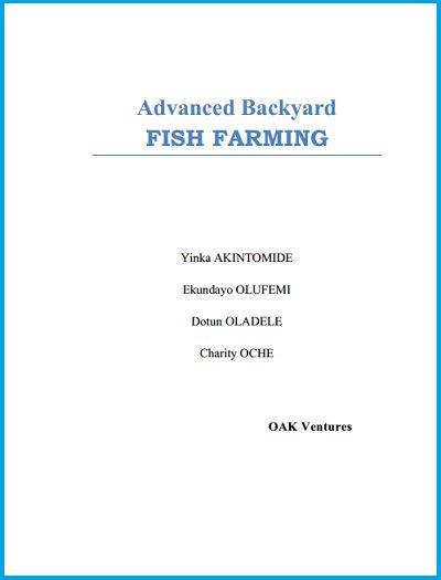 Fish farming