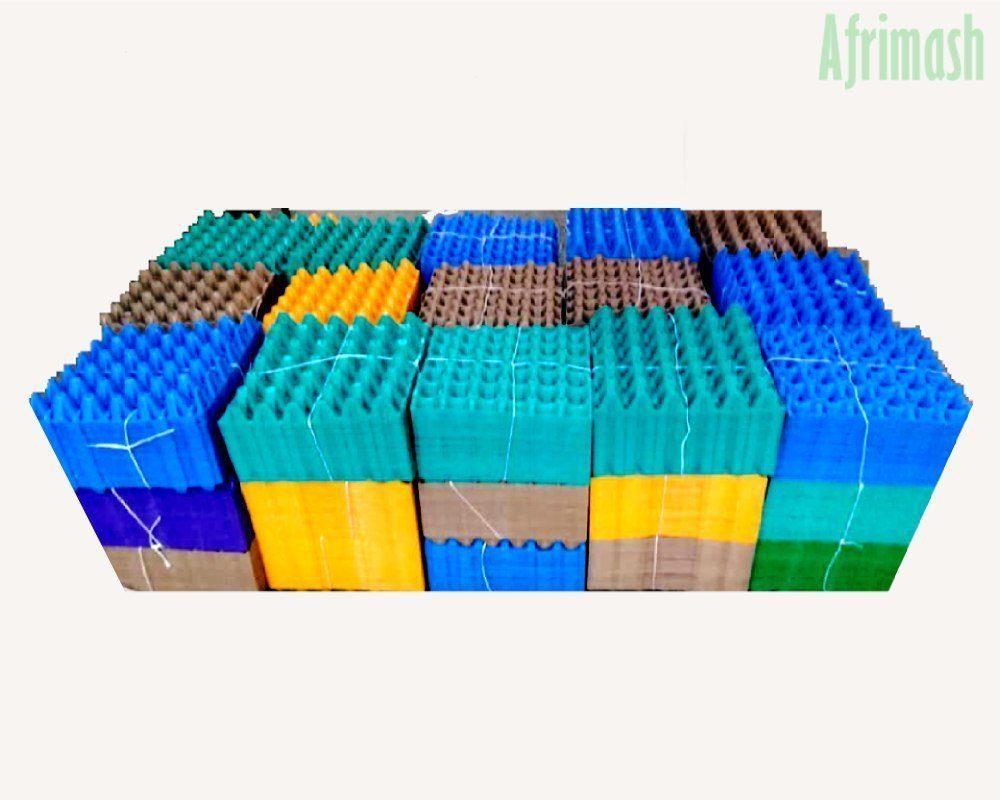 plastic egg crates