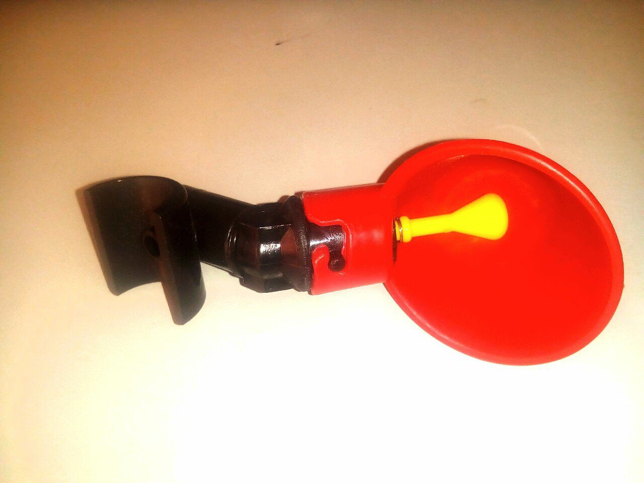 Chicken Drink Cup with PVC attachment