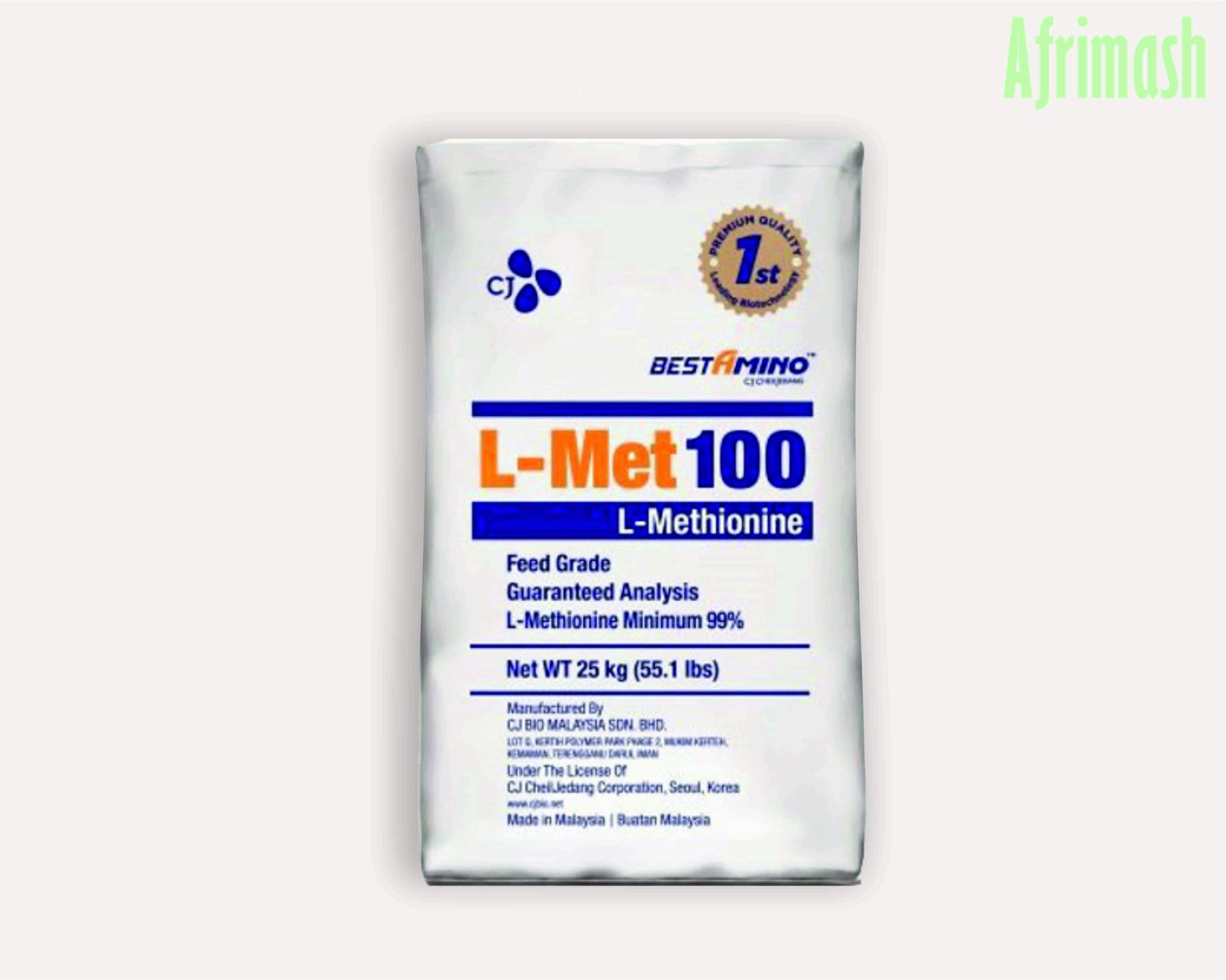 Feed grade L-methionine