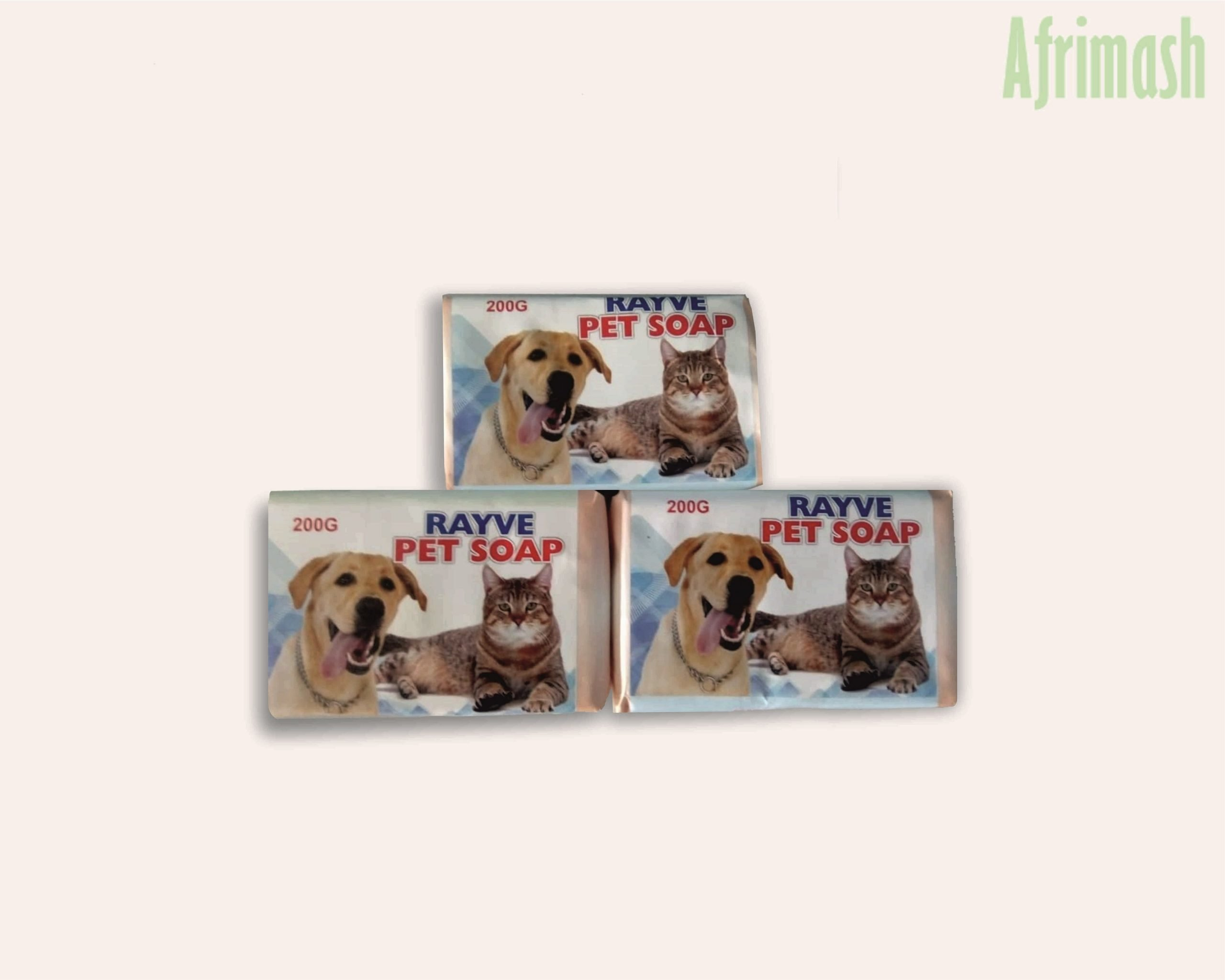 Rayve pet soap