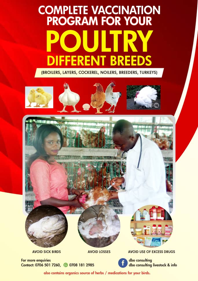 Vaccination Program-The Complete Guide For Different Breeds of Poultry  (E-Book)