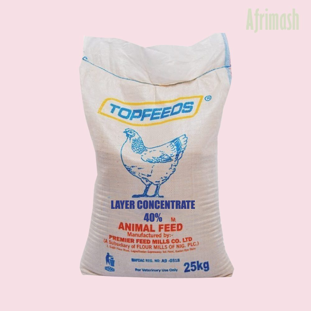 Topfeed layer concentrate