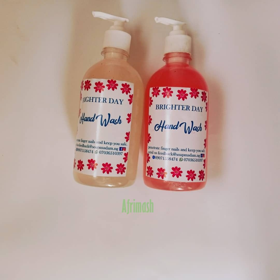 brighter day hand wash