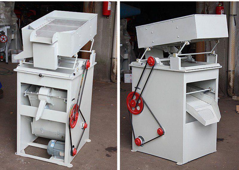 small rice destoner machine