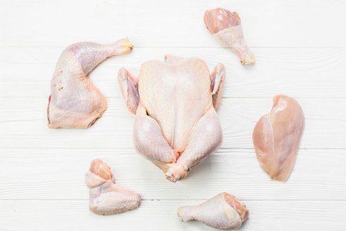chickens parts