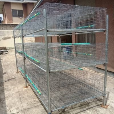 battery cage for rabbits