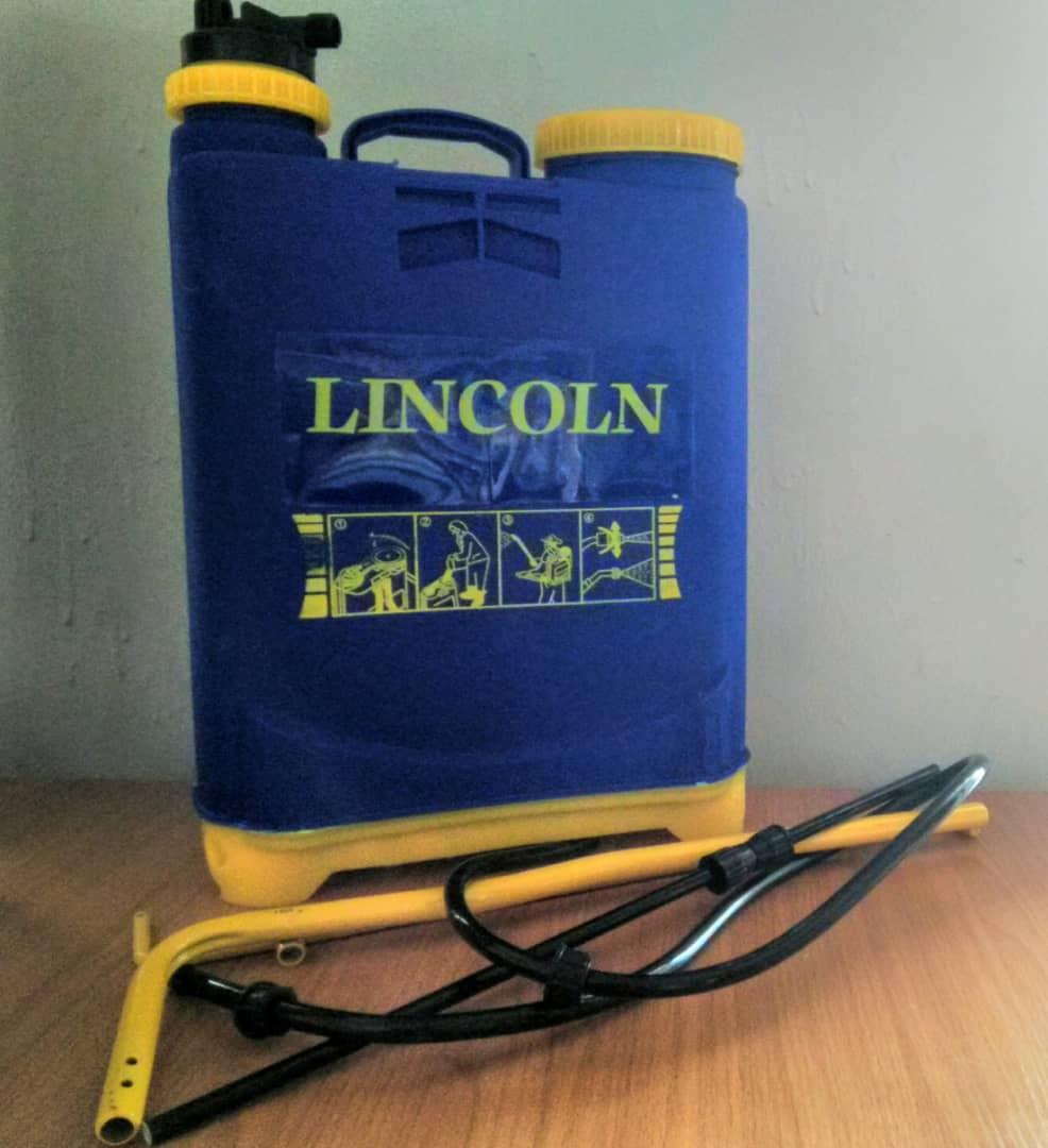 lincoln knapsack sprayer