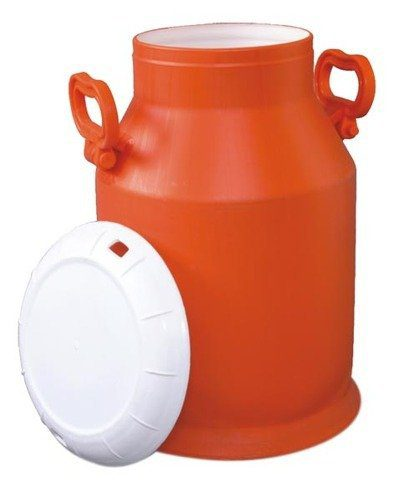 plastic milk bucket