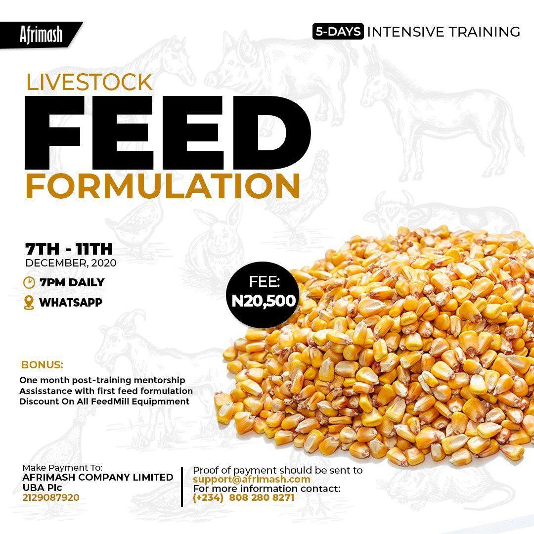 Livestock Feed Formulation