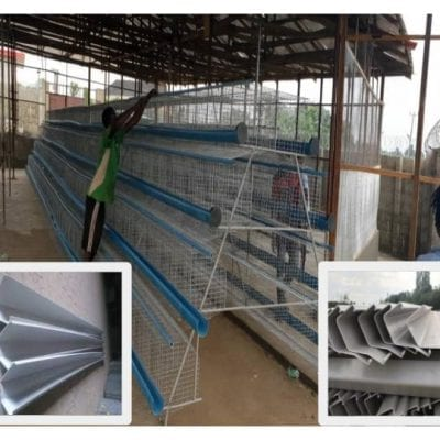 128 Capacity Battery Cages