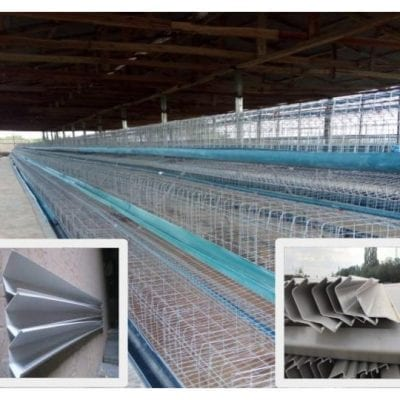 96 capacity battery cages