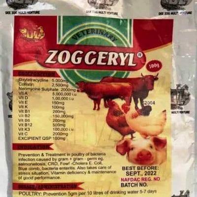 Zogceryl antibiotic