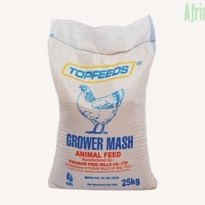 top feeds grower mash