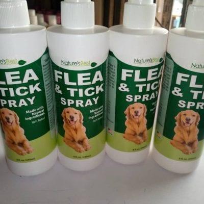 Tick and Flea Spray