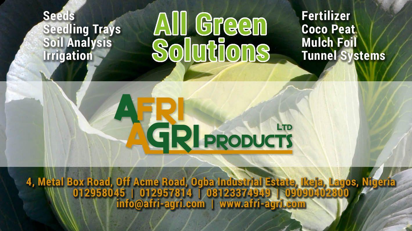 Afri Agri Products Ltd