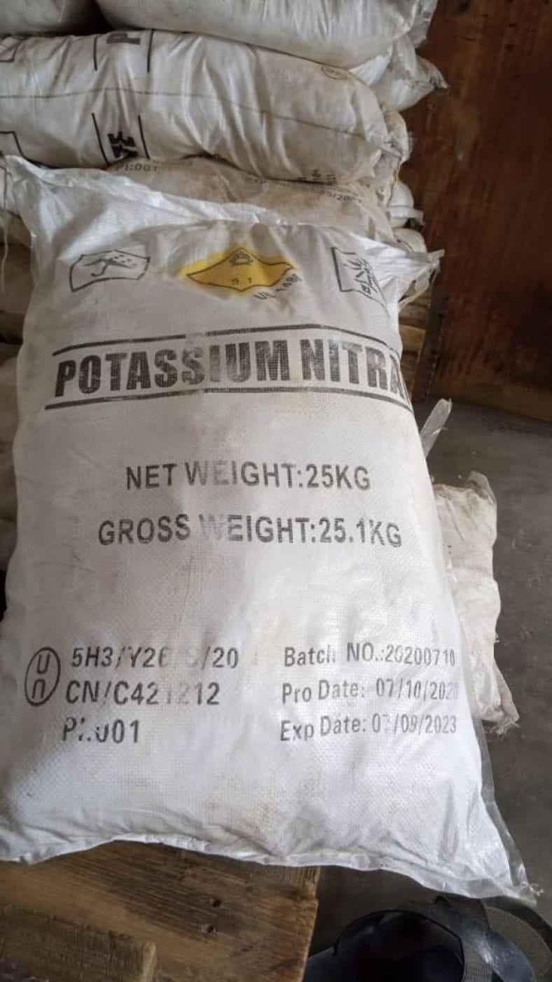 25kg Bag Potassium Nitrate