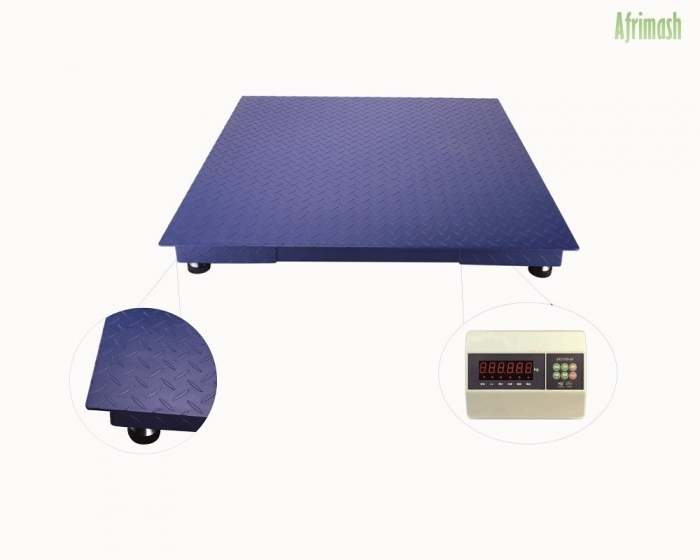 1000kg digital floor weighing scale