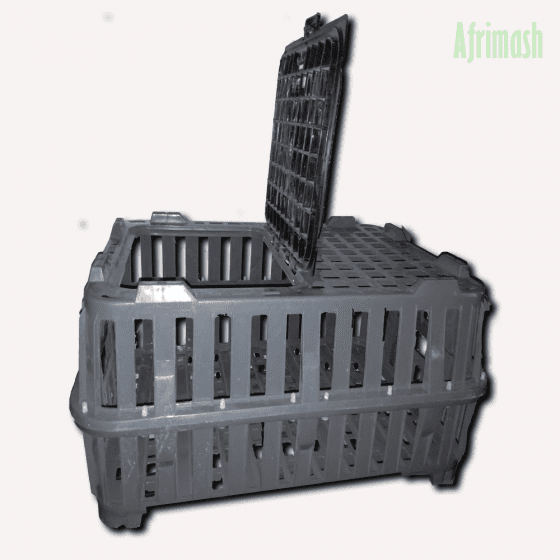 Live bird transport crate